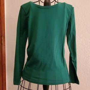 Xhilaration Sleepwear Green Long Sleeve Tee Top XL